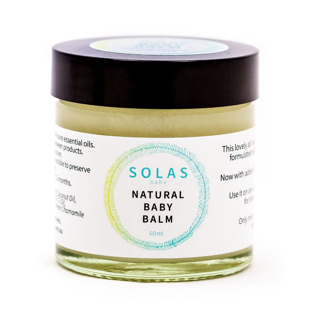 Natural Baby Balm Solas Essentials