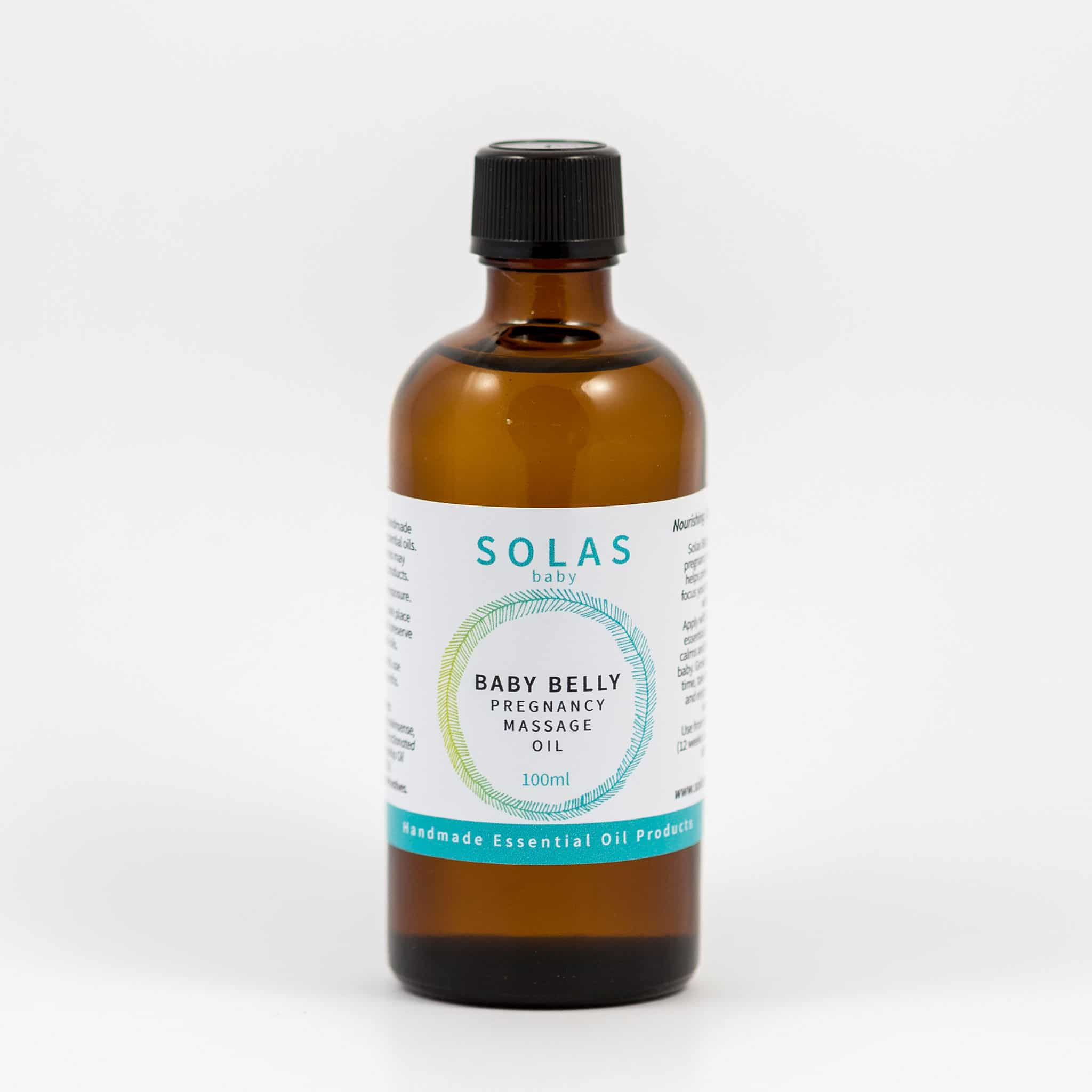 Baby Belly Massage Oil