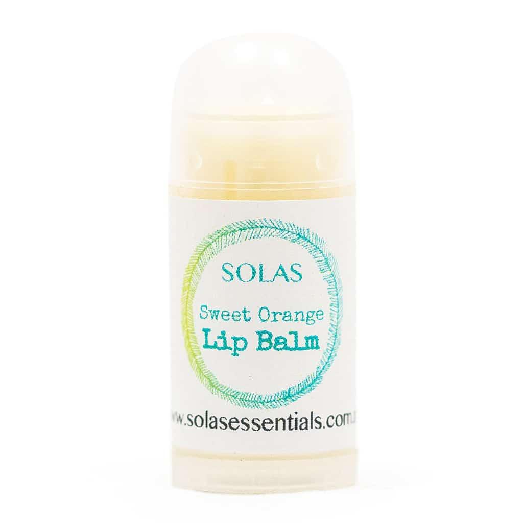 Sweet Orange Lip Balm Solas Essentials